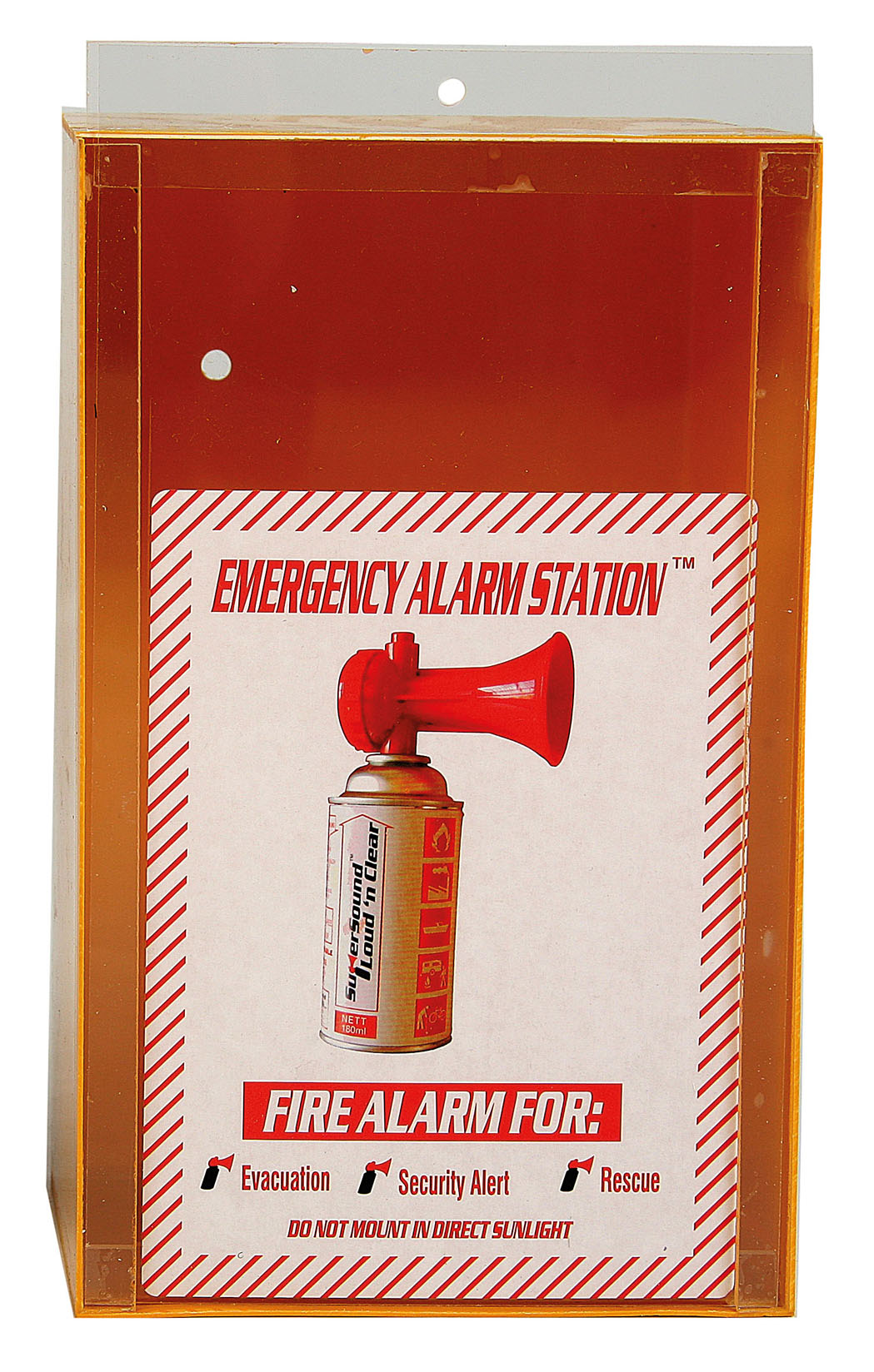 safety equipment fire amp road safety air horn wall